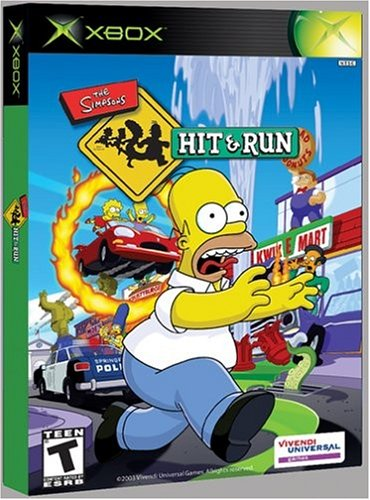 Amazon Com Simpsons Hit And Run Xbox Artist Not Provided Video Games