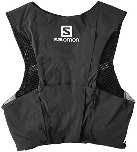 Salomon Unisex S-Lab Sense Ultra 8 Set Backpack, Black, Racing Red, XS by Salomon (Image #2)