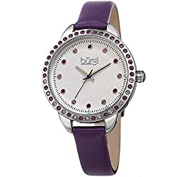 Swarovski Crystal Watch with Studded Bezel/Dial