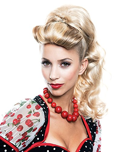 Summitfashions Hair Piece Ponytail Blonde Rockabilly Wig Theatre Costume Accessory Theater]()
