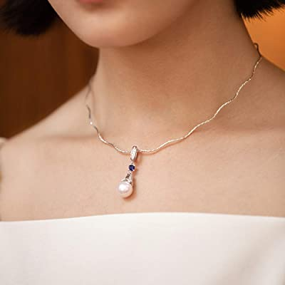 """Details about  /FRESHWATER CULTURED PEARL WHITE COLOR 72/"""" NECKLACE"""
