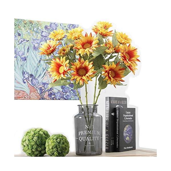 Charmly-6-Pcs-Artificial-Sunflowers-Fake-Sunflowers-Artificial-Silk-Flowers-For-Home-Hotel-Office-Wedding-Party-Garden-Craft-Art-Decor-185-High