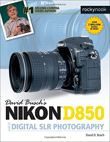 David Busch's Nikon D850 Guide to Digital SLR Photography is your all-in-one comprehensive resource and reference for the feature-packed Nikon D850 camera. Built around a ground-breaking 45.7 megapixel back-illuminated sensor, this pro/enthusiast mod...