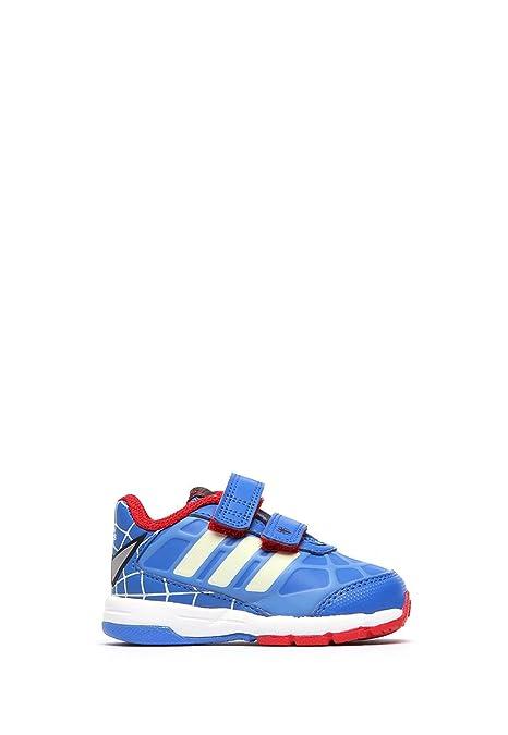 hot sale online 017b3 8df70 Adidas Tenis Disney Spider-Man CF I Tenis para Niños Azul Talla 10
