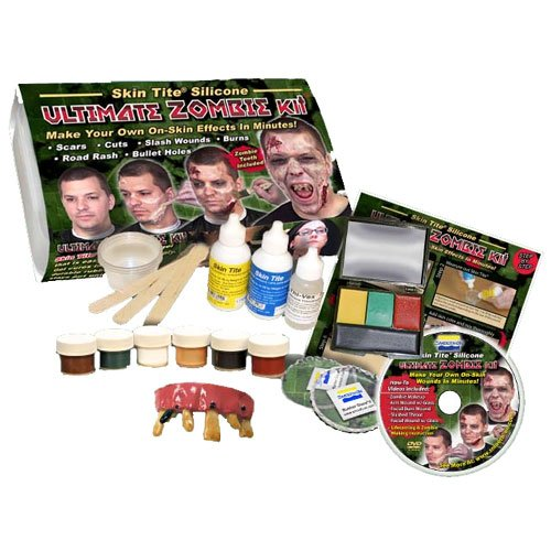 [Smooth-On ULTIMATE ZOMBIE KIT Complete Silicone appliance kit!] (Complete Guide To Clown Makeup)