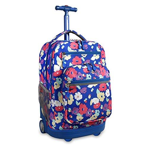 J World New York Sundance Laptop Rolling Backpack Backpack,