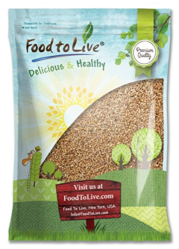 Hard Red Wheat Berries/Wheatgrass by Food to Live (Seeds for Sprouting, Bulk) - 10 Pounds