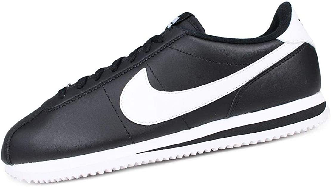 Discriminación misericordia decidir  Amazon.com | NIKE Cortez Basic Leather 819719-012 Men's Shoes | Fashion  Sneakers