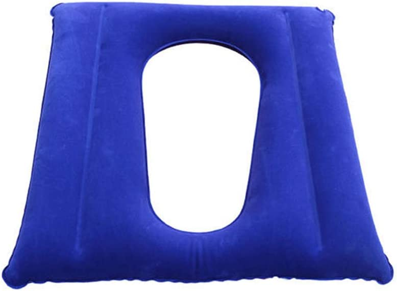 ZXMDP Cojín Inflable Silla de Ruedas médica Cojín ortopédico para el Alivio del Dolor, Incluido el Dolor de cóccix para el Asiento del automóvil Oficina en el hogar o Silla de Ruedas