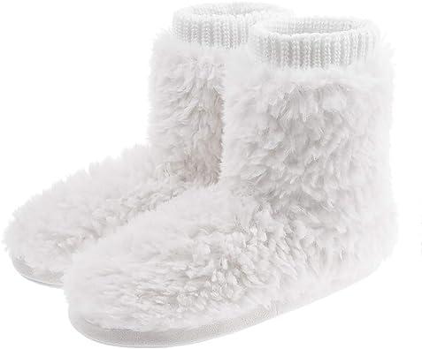 Warm Bootie Slippers Slip-On Booties