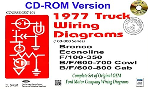 ford f600 truck wiring diagrams 1977 ford truck wiring diagrams  100 800 series  bronco  econoline  1977 ford truck wiring diagrams  100