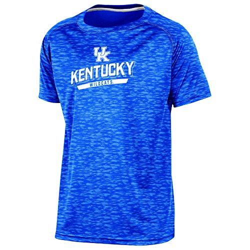 (Champion (CHAFK) NCAA Kentucky Wildcats Youth Boys Short sleeve Crew Neck RA Tee, Small, Blue)