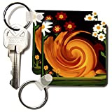 Best 3dRose Garden Gifts - 3dRose 8 x 8 x 0.25 Garden Snail Review