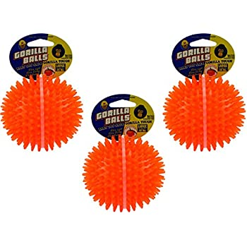 Pet Supplies : (3 Pack) PetSport Gorilla Ball, Large