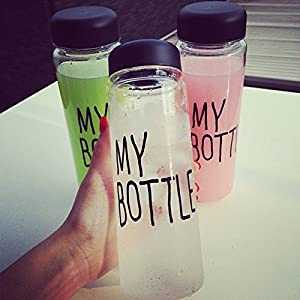 Popular Clear My Bottle Sport Fruit Juice Water Cup Portable 500ML Travel Bottle