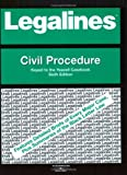 Legalines on Civil Procedure,- Keyed to Yeazell, Brooks, Roy L., 0314159096