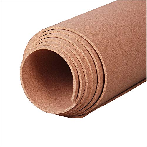 Manton Cork Roll, 100% Natural, 4' x 8' x 1/4