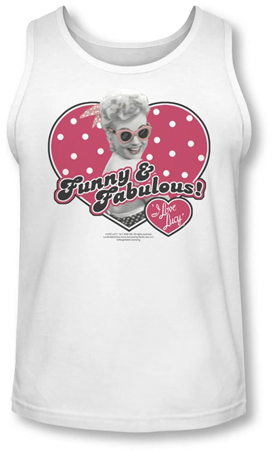 Lucy - Mens Funny & Fabulous Tank-Top