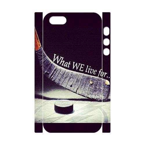 Customized Sioux hockey! iPhone 5 3D Cover Case, Sioux hockey! Custom 3D Phone Case for iPhone 5,iPhone 5s at Lzzcase