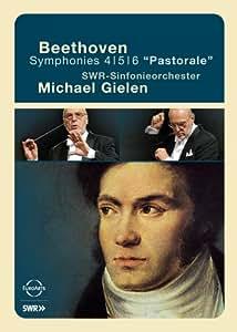 "Michael Gielen/SWR Sinfonieorchester: Beethoven Symphonies Nos. 4, 5, & 6 ""Pastorale"" [Import]"