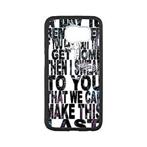 Samsung Galaxy S6 Case a Day to Remember if it Means a Lot to You for Men, Samsung Galaxy S6 Edge Case Beautiful for Men [White]