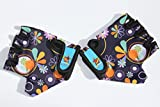 HANG Monkey Bars Gloves With Grip Control (Flowers) For children 7 and 8 years old