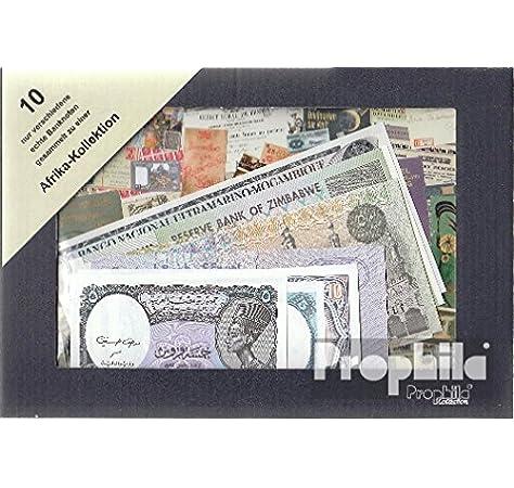 Prophila Billetes para coleccionistas: África 10 Diferentes Billetes: Amazon.es: Juguetes y juegos