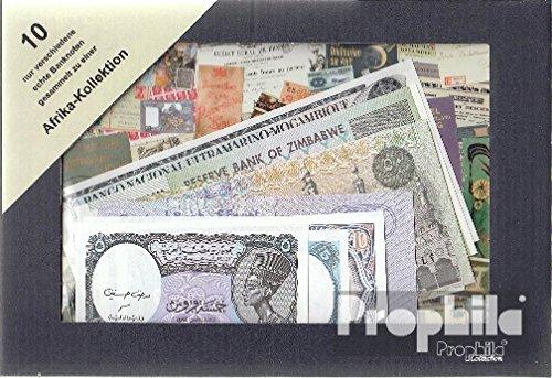 Africa 10 diversi Banconote (Banconote ) Prophila Collection