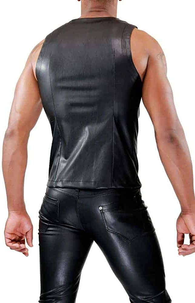 Tof Fetish Zipped Tank Top