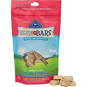 Blue Mini Bars Crunchy Dog Treats 20