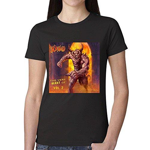 Dio The Very Beast Of Dio Volume 2 Womens T-Shirt Black