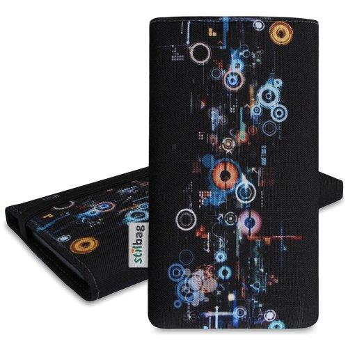 Stilbag Funda MIKA para HTC One (M8) - Diseño: Industrial