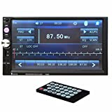 Boddenly 7 inch TFT Touch Screen Bluetooth Car Video PlayerCar Stereo Receivers In-Dash Car Mp3 Mp5 Radio Audio Stereo Player