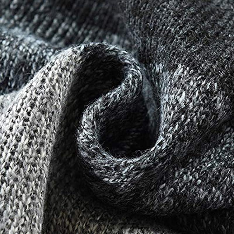 Vertvie męska kurtka dziergana, gruba dzianina, krÓj slim fit, kardigan, bluza z dzianiny, kardigan, outwear płaszcz zimowy z zamkiem błyskawicznym: Vertvie: Odzież