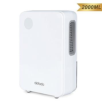 Luftentfeuchter, Aidodo 2000ml elektronischer tragbarer und leiser ...