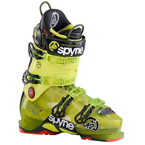 K2 SpYne 110 100mm Ski Boots Mens Sz 11.5 (29.5) (Ski Tour Boots Mens)