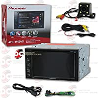 Pioneer AVH-190DVD Car 2DIN Double DIN 6.2 Touchscreen Multimedia AM/FM, MP3 DVD CD receiver with DCO Night Vision and 170 Degrees Wide Angle View