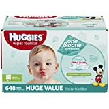 HUGGIES One & Done Refreshing Baby Wipes, Refill, 648 Count