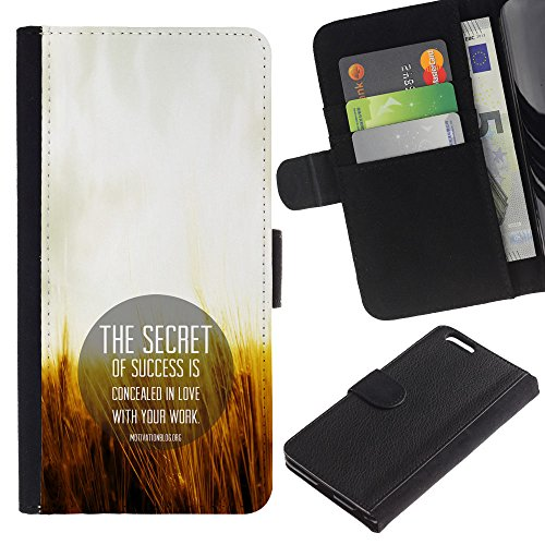 OMEGA Case / Apple Iphone 6 PLUS 5.5 / THE WORLD CROWNS SUCCESS / Cuir PU Portefeuille Coverture Shell Armure Coque Coq Cas Etui Housse Case Cover Wallet Credit Card