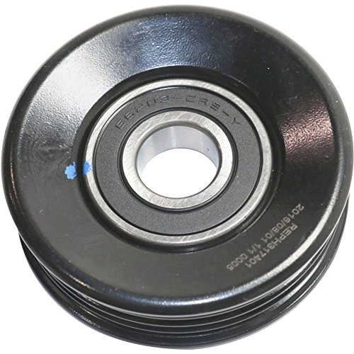 Evan-Fischer EVA42610181510 Accessory Belt Idler Pulley for Honda Accord 85-07 Civic 88-11 HS250H 10-12 - Acura Integra Pulley