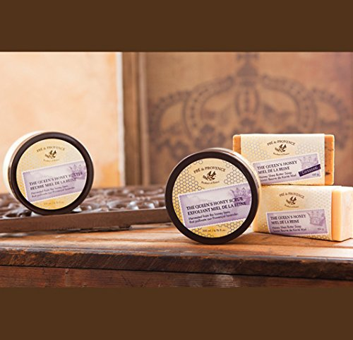 51VNHGwRy9L Pre de Provence Queen's Honey Shea Butter Enriched, Soothing, Moisturizing Queen's Honey Scrub