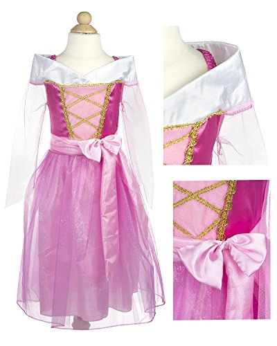 [My Princess Academy Girls Elegant Costume Character Dress Pink Medium] (Pink Renaissance Dress)