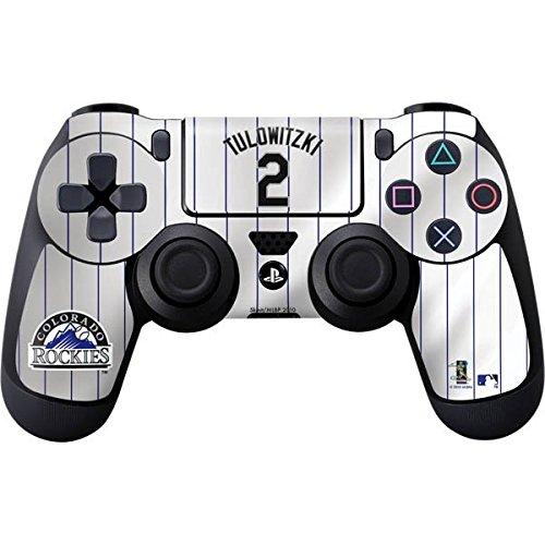 MLB Colorado Rockies PS4 DualShock4 Controller Skin - Colorado Rockies #2 Troy Tulowitzki Vinyl Decal Skin For Your PS4 DualShock4 Controller ()