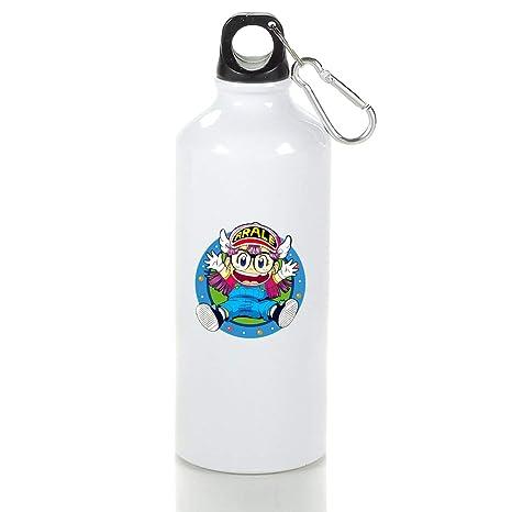 Amazon.com: Xxxx Dtjscl Arale - Botella de aluminio para ...
