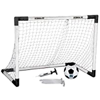 Juego de pelota y balón de fútbol Franklin Sports MLS Insta-Set