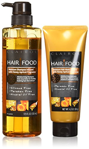 Hair Food Moisture Shampoo & Moisture Hair Mask Set Infused