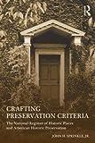 Crafting Preservation Criteria