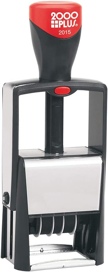 2000 Plus Self-Inking Heavy Duty Date Stamp, 5/8