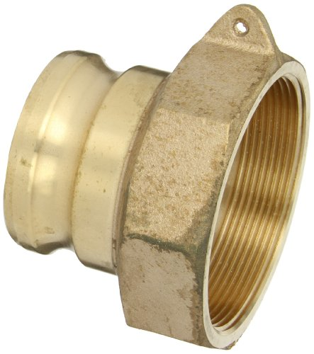 PT Coupling 30X40A Brass Reducer Cam and Groove Hose Fitting, A-Reducer, 3