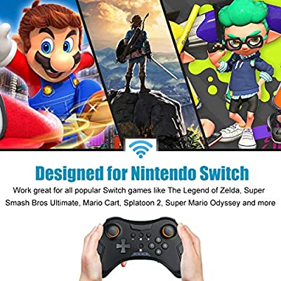 Defway Wireless Controller for Ninetendo Switch with Gyro Motion